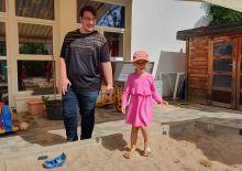 Im Sandkasten