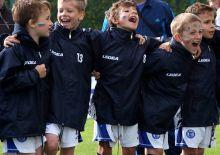 Kinder-Fußballmannschaft