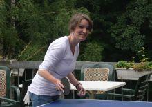 Beim Tischtennis
