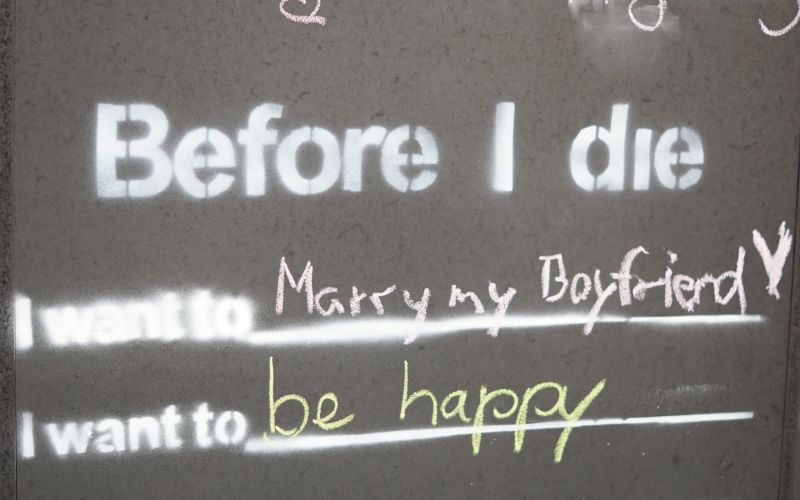 Before I die ... Mary my Boyfriend, be happy