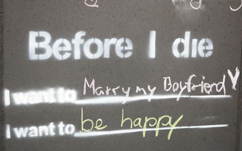 Before I die ... Mary my Boyfriend, be happy